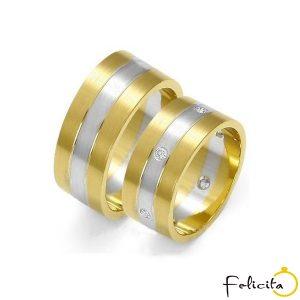 Zlaté obrúčky ZOE-59